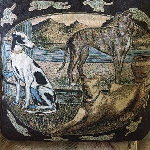 Beautiful Greyhounds Pillow